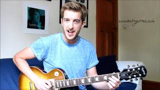 Smokestack Lightnin Guitar Lesson - Minor Pentatonic Song #8