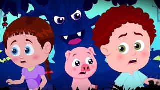Halloween Tree | Schoolies Cartoons | Songs For Babies