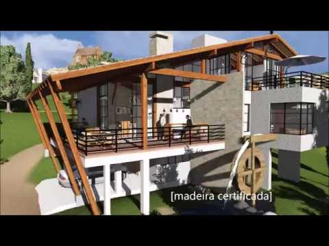 Projeto casa de campo youtube - Casas de canpo ...