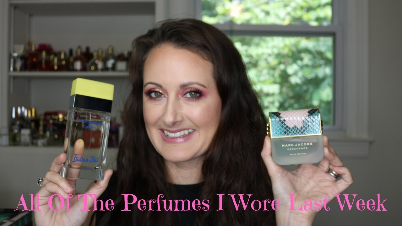 What I Wore Last Week // All of The Perfumes I Wore Last Week