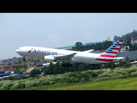 AMERICAN AIRLINES - DECOLAGEM DE GUARULHOS
