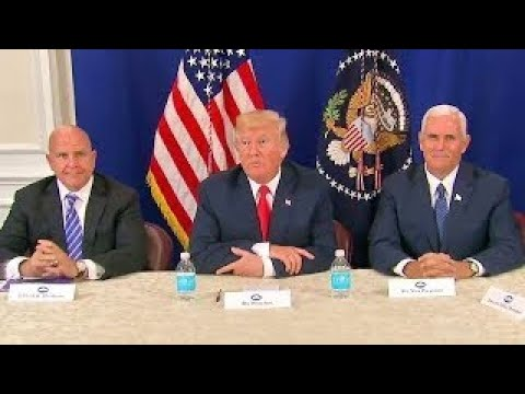 President Trump Press Conference on North Korea, Russia, China. August 10, 2017. NJ. Golf
