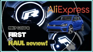 Purchased a bunch of items from AliExpress for the MK7 / MK7.5 Golf GTI R