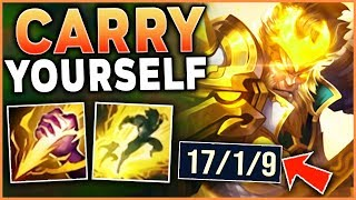 #1 WUKONG WORLD HOW TO CARRY 3 LOSING LANES (AS JUNGLE) - League of Legends