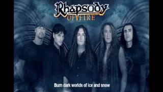 Rhapsody of Fire- Raging Starfire (Lyrics)