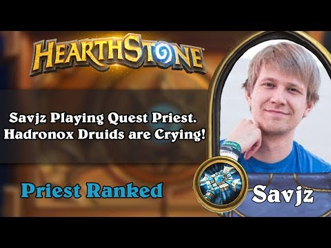 Savjz Playing Quest Priest. Hadronox Druids are Crying!