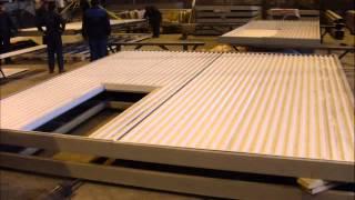 Ворота откатные с калиткой, с механизированным открыванием по типу серии 1.435.9-24(Изготовим ворота откатные с калиткой, с механизированным открыванием для производственных зданий и промыш..., 2013-04-29T08:57:37.000Z)