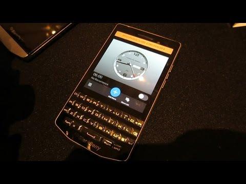 BlackBerry Porsche Design P9983 First Hands On