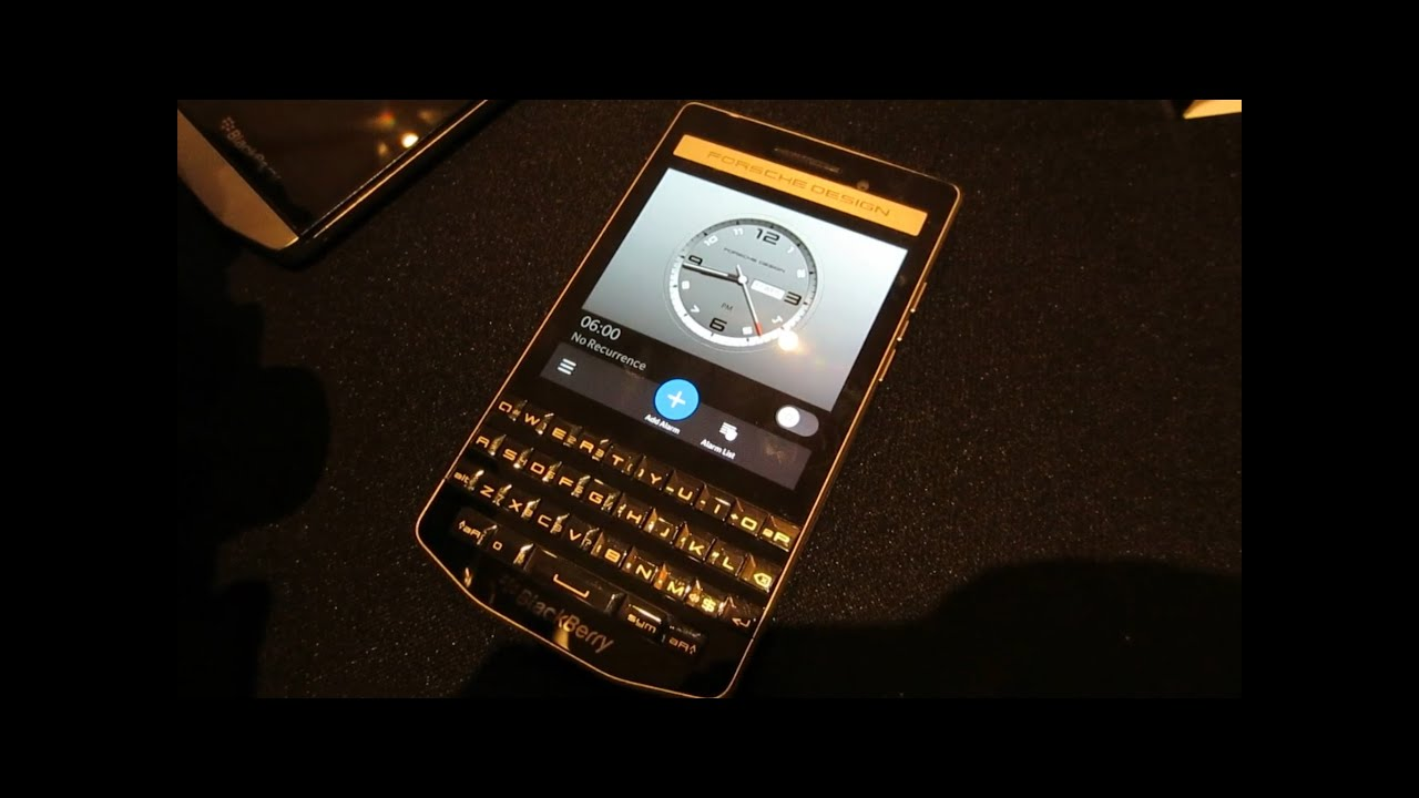 blackberry porsche design p9983 first hands on youtube. Black Bedroom Furniture Sets. Home Design Ideas