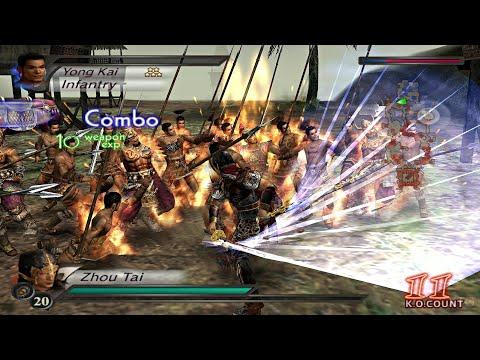 Dynasty Warriors 4 - All Musou Attacks PS2 Gameplay HD (PCSX2)