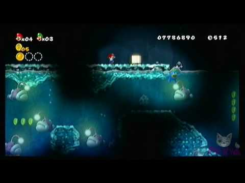 New Super Mario Bros Wii World 8 4 Youtube