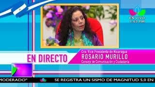 Comunicación con la Vicepresidenta Compañera Rosario Murillo, 15 de Junio de 2018