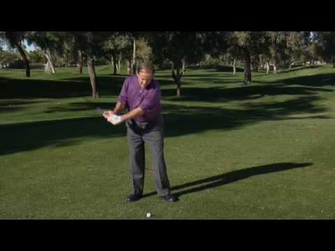 Senior Golf Drills-  Turning Through For Complete Finish