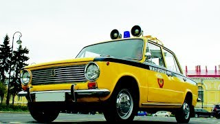 видео ВАЗ 2101 ГАИ СССР