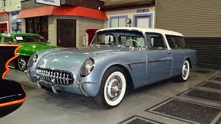 1955 Chevrolet Chevy Corvette Nomad Wagon Motorama Concept on My Car Story with Lou Costabile