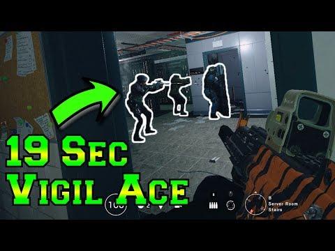 Epic 19 Second Vigil Ace - Rainbow Six Siege White Noise