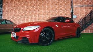 Review BMW Z4 สีแดง มาพร้อมกับชุดแต่ง RowenRR  กับราคาพิเศษสุด