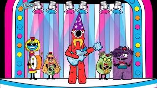 Yo Gabba Gabba Music is Awesome App Gameplay - Fun Songs and Dance Game 📱Wildbrain Toy Club