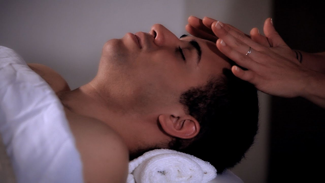 How to Relieve Tension w/ Pressure Points   Head Massage
