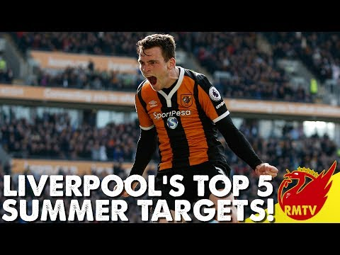 Liverpool's Top 5 Summer Targets | Daily News LIVE