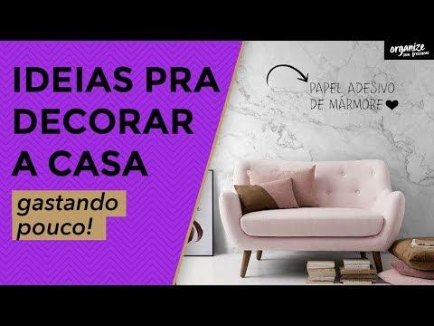 COMO DECORAR A CASA GASTANDO POUCO - IDEIAS DO PINTEREST