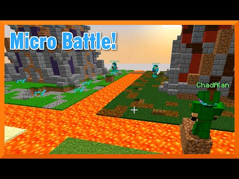 Minecraft - Micro Battle GamePlay with Gamer Chad - We Need Action!