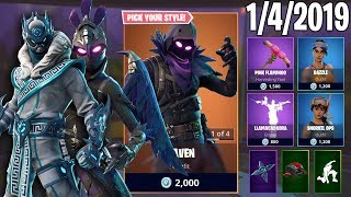 SNORKEL OPS?!? January 4th New Skins || Daily Fortnite Item Shop