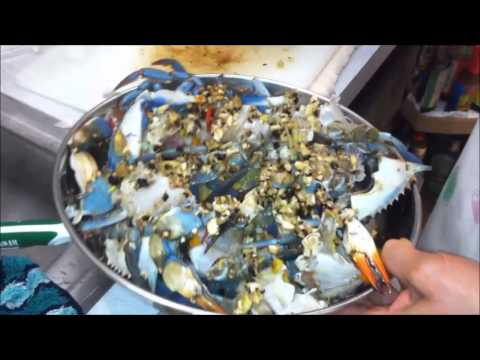 How To Clean & Cook Live Blue Crab