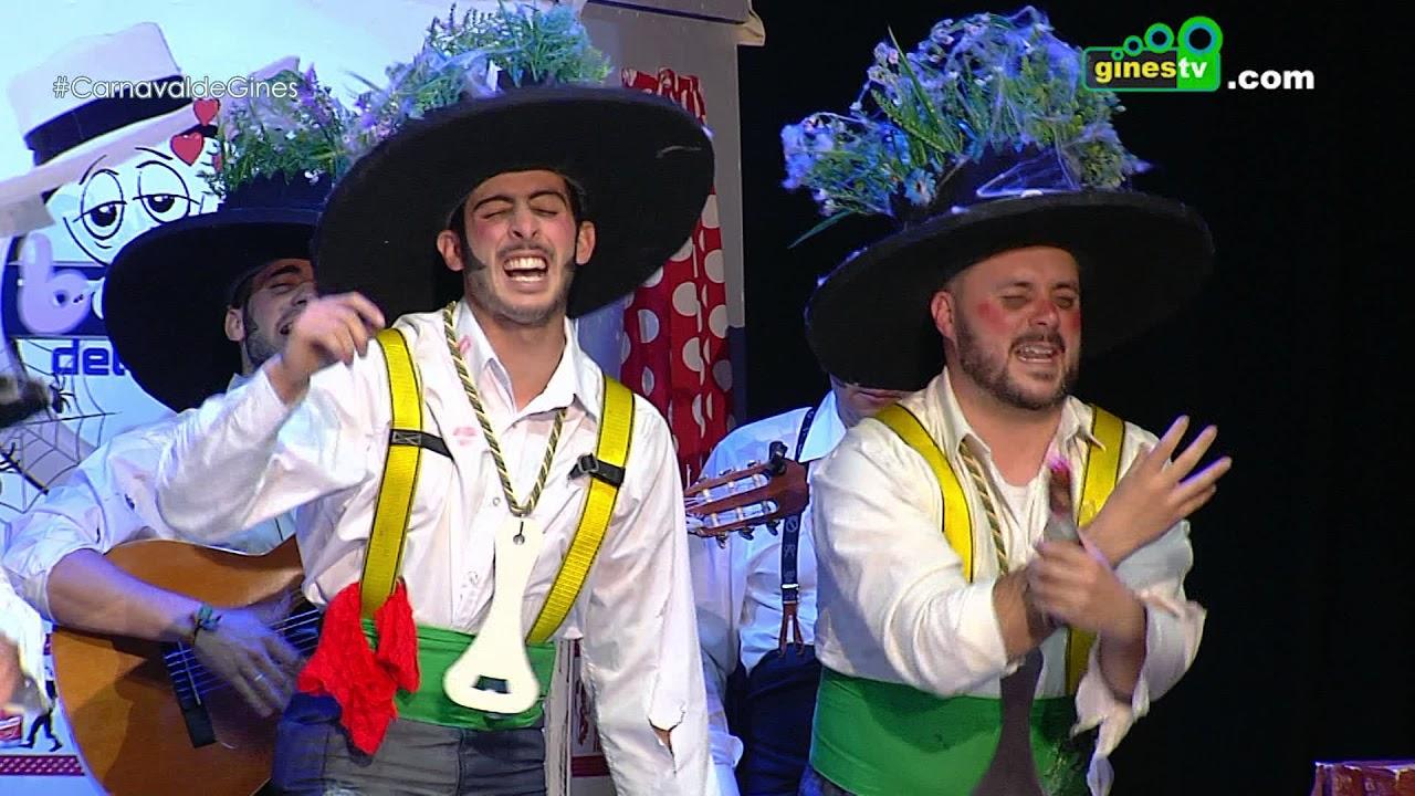 Los walking dead de la aldea  Carnaval de Gines 2018 Cuarta semifinal