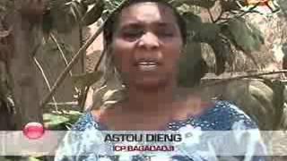 Les agents sanitaires de kolda déterminés contre la bilharziose  JT wolof du 24 avril 2012