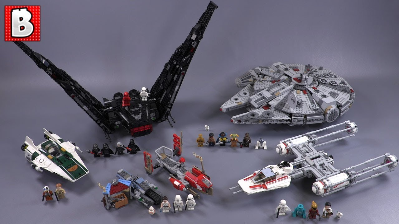 Every Lego Star Wars Rise Of Skywalker Set Reviews Comparisons Youtube