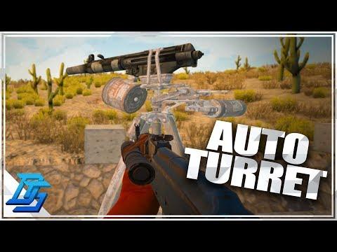 Autoturret has AIMHACK!  - 7 Days to Die - Alpha 16 - part 54
