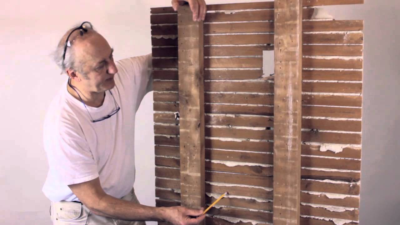 Plaster Wall Repair Basics Anatomy Of A Lath And Plaster