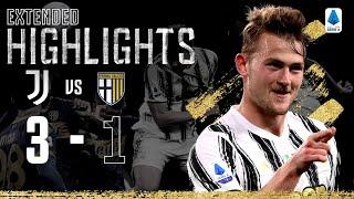 Juventus 3-1 Parma| La doppietta di Alex Sandro e colpo di testa di de Ligt! | H