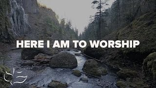Here I Am To Worship | Maranatha! Music (Lyric Video)