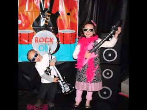Rock star party decorating ideas