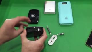 Портативный аккумулятор для телефона, видео обзор #pandacase96