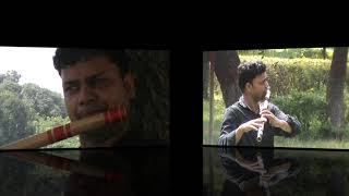 TUJHE KITNA CHAHNE LAGE HAM॥FLUTE COVERED BY AJEET॥SOULFUL MUSIC॥