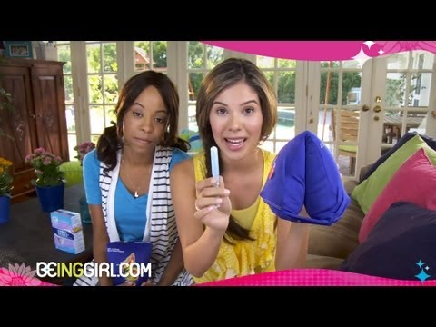 How to Insert a Tampon | Tampon Training Camp by BeingGirl