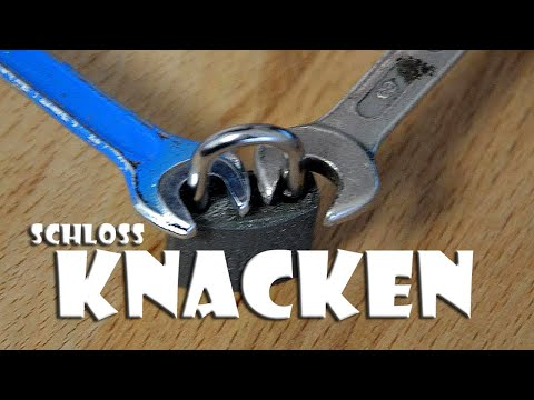 hack schloss knacken how to open a lock youtube. Black Bedroom Furniture Sets. Home Design Ideas