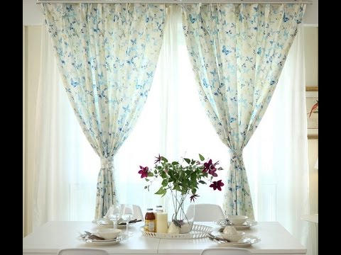 Curtains Butterfly Design