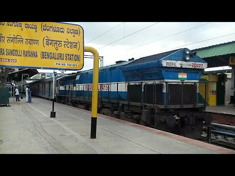 KSR BENGALURU City Railway Station ||  A Walkthrough with Alco Spottings||PL 698 Extended Coverage!