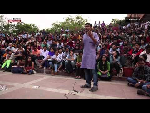 Kanhaiya Kumar Speech At JNU Campus