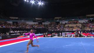Simone Biles - Floor Exercise - 2013 AT&T American Cup