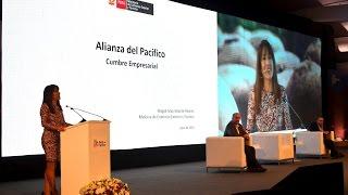 Ministra Silva inauguró III Cumbre Empresarial de la Alianza del Pacífico