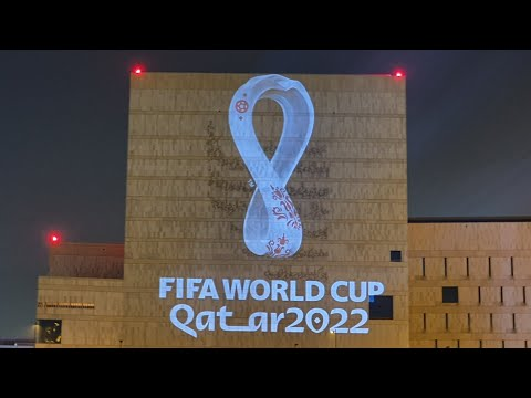 Qatar Fifa Worldcup 2022 Logo (Official emblem revealed)