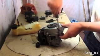 ремонт мотокосы (тримера) (часть 2 - сборка)(Это видео не претендует на роль пособия или обучающего видео. Но оно будет полезным тем кто никогда не разби..., 2013-06-30T13:03:45.000Z)