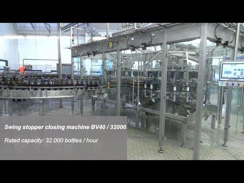 Swing stopper closing machine BV40 - 32000