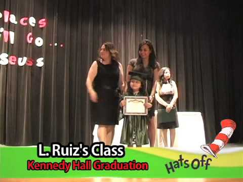 Kennedy Hall Graduation 2012 -  2013