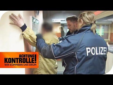 Kein Ticket: Betrunkener Schwarzfahrer erwischt! | Achtung Kontrolle | kabel eins